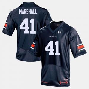 #41 Aidan Marshall Auburn Jersey College Football Navy Mens 264586-653