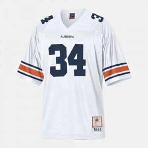 Bo Jackson Auburn Jersey #34 For Men's College Football White 530918-274