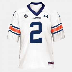 #2 Cam Newton Auburn Jersey Youth College Football White 988799-317