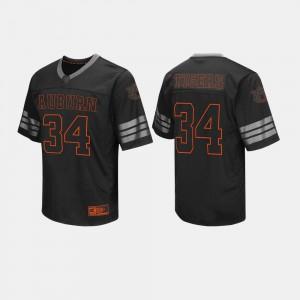 College Football #34 Auburn Jersey Mens Black 193593-482
