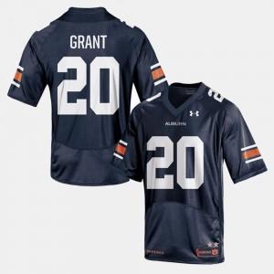 For Men's #20 Corey Grant Auburn Jersey College Football Navy 693616-823