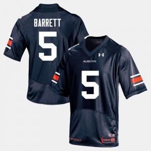 College Football Mens Devan Barrett Auburn Jersey #5 Navy 842601-436