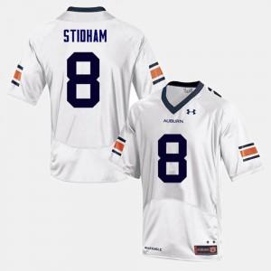 For Men's College Football Jarrett Stidham Auburn Jersey White #8 220260-255