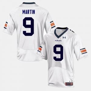 Kam Martin Auburn Jersey For Men's College Football White #9 596684-342
