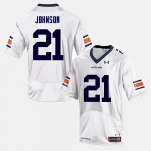 White Kerryon Johnson Auburn Jersey #21 College Football Men 507667-904
