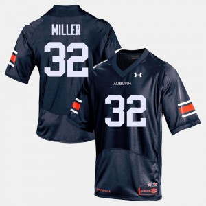 Malik Miller Auburn Jersey Men Navy #32 College Football 479602-323