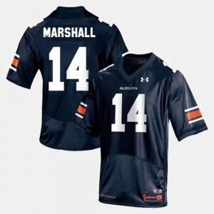 Nick Marshall Auburn Jersey #14 College Football Mens Blue 732594-752