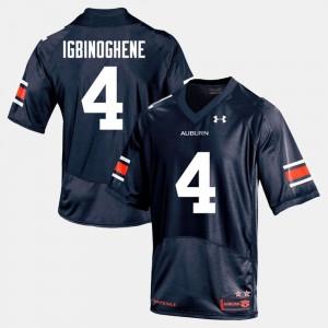 Navy Noah Igbinoghene Auburn Jersey #19 College Football For Men's 545589-704