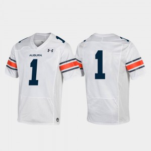 College Football For Men White Auburn Jersey #1 Premier 235098-956