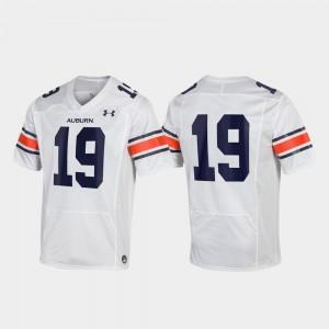 Replica Auburn Jersey #19 Men White 624279-594