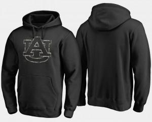 Black Camo Cloak For Men's Big & Tall Auburn Hoodie 654932-458