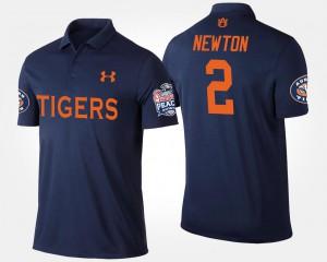 Navy Cam Newton Auburn Polo Bowl Game Mens Peach Bowl #2 187287-332
