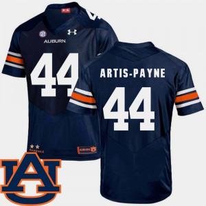 Cameron Artis-Payne Auburn Jersey College Football Navy #44 SEC Patch Replica Mens 547146-327