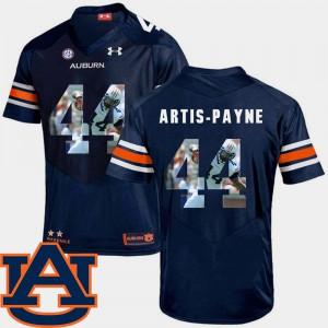 Football Cameron Artis-Payne Auburn Jersey Pictorial Fashion #44 Mens Navy 709246-897