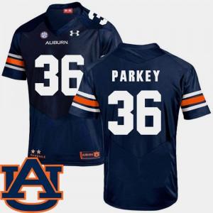 Navy SEC Patch Replica College Football Cody Parkey Auburn Jersey #36 For Men's 455712-299