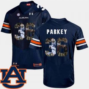 Navy Football Cody Parkey Auburn Jersey Pictorial Fashion #36 Men's 581375-524