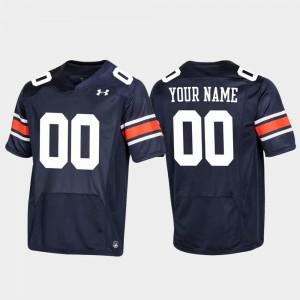 #00 Football Auburn Customized Jerseys Navy For Men Replica 933404-196