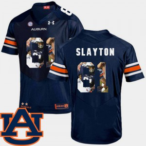 Navy Pictorial Fashion Darius Slayton Auburn Jersey Men Football #81 709367-745