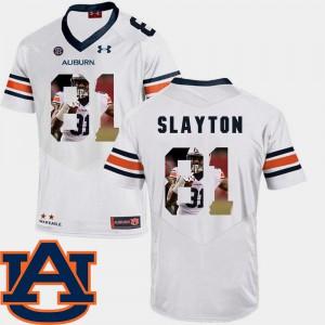 #81 White Football Darius Slayton Auburn Jersey For Men's Pictorial Fashion 608830-497