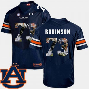 Greg Robinson Auburn Jersey #73 Navy Football Pictorial Fashion For Men 435056-414