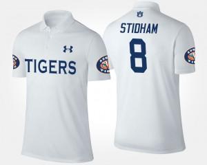 #8 Jarrett Stidham Auburn Polo For Men's White 381956-302