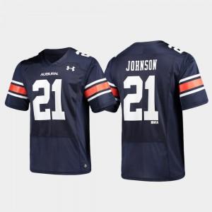 Navy Replica Alumni Football Kerryon Johnson Auburn Jersey #21 Men's 677271-817