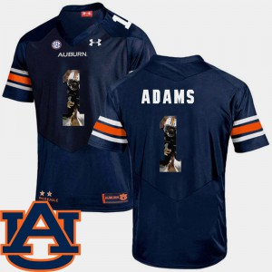 Navy Football Montravius Adams Auburn Jersey Pictorial Fashion #1 Men's 199537-446