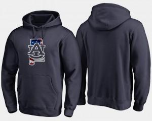 Banner State Auburn Hoodie For Men Navy Big & Tall 612403-312