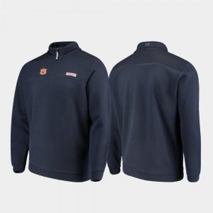 Shep Shirt Men Auburn Jacket Navy Quarter-Zip 816965-361